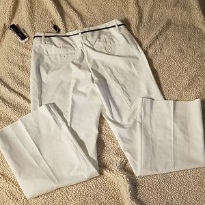 Dana Buchman Signature White Dress Pants Sz 12